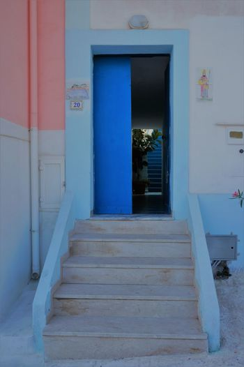 Plant Steps Architecture Building Exterior Built Structure Day Door Doorway Entry Indoors  Island Islandlife No People Open Door Outdoors Steps And Staircases Been There. Done That.