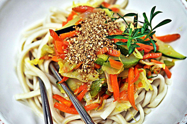 Soba Noodles Madewithlove Foodphotography Veganfood Italiantaste Organicfood Vero Veg'n'Roll Freshfood