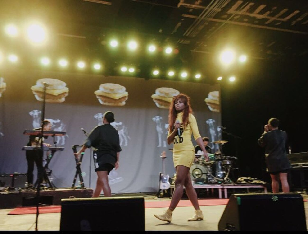 Santigold in Tempe at the Marquee Webuygoldtour Music Concert Photography Mylife Interesting Fashionmajor Follow
