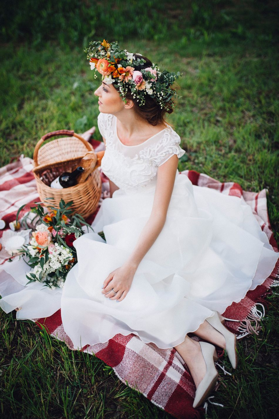 Beautiful stock photos of wedding, one young woman only, one woman only, traditional clothing, women