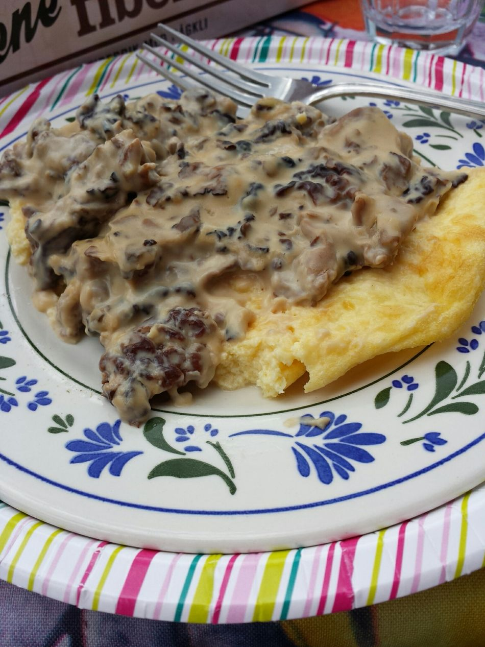Murklor Omelett Murkelomelett Food