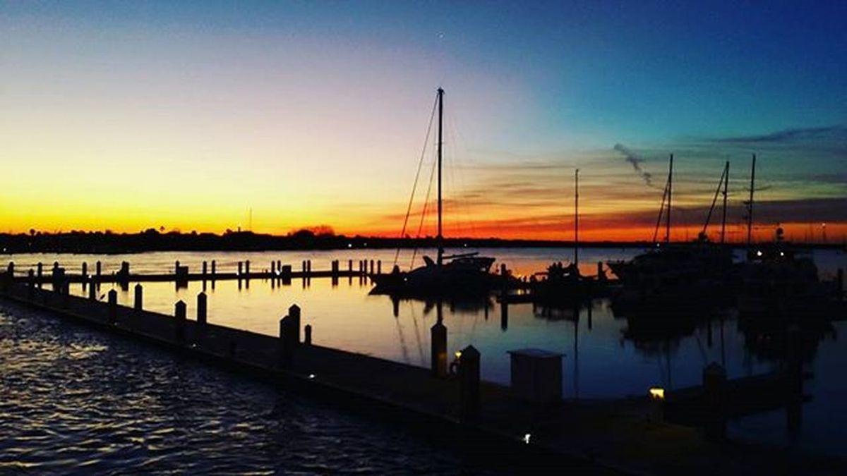 Bridgeoflions Saltlife Drawbridge  Bridge Staugustine Harbourside Harbour Cloudporn Epicsky Sunrise Boat Sailboat Picoftheday Florida Saltlife_sunrise Fireinthesky