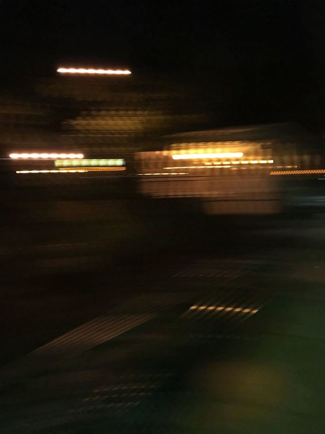 Blurred Motion City City Life Dark Empty Glowing Illuminated Light Light Trail Motion Night No People Road Sky The Way Forward