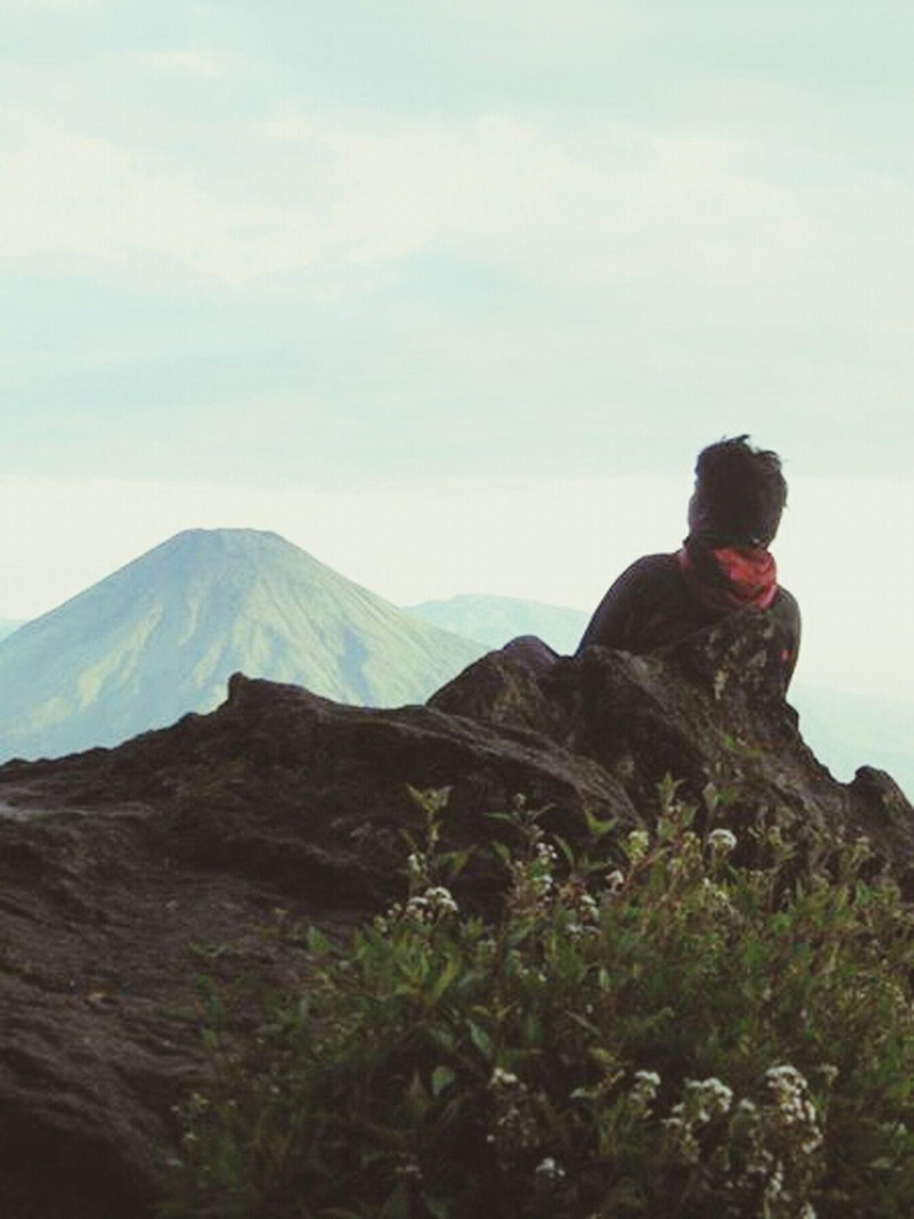 Hello World Its Me Mountain View Amazing Indonesia