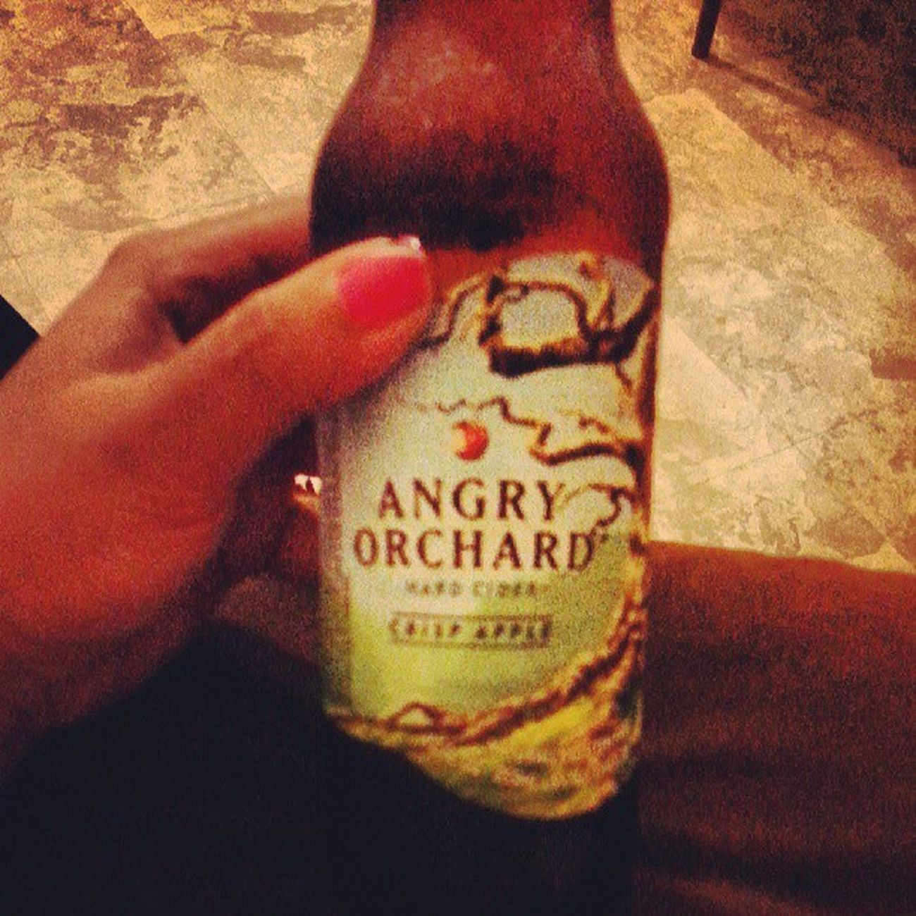 AngryOrchard Hardcider Crisp Apple naturally gluten free!