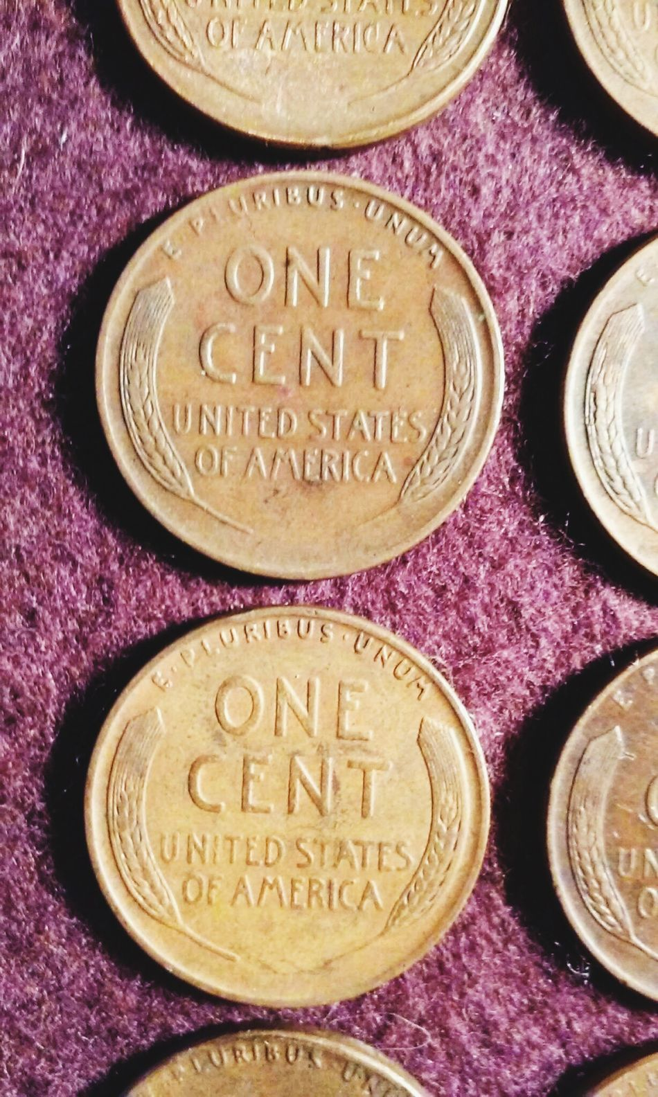 American Coins Wheat Pennies