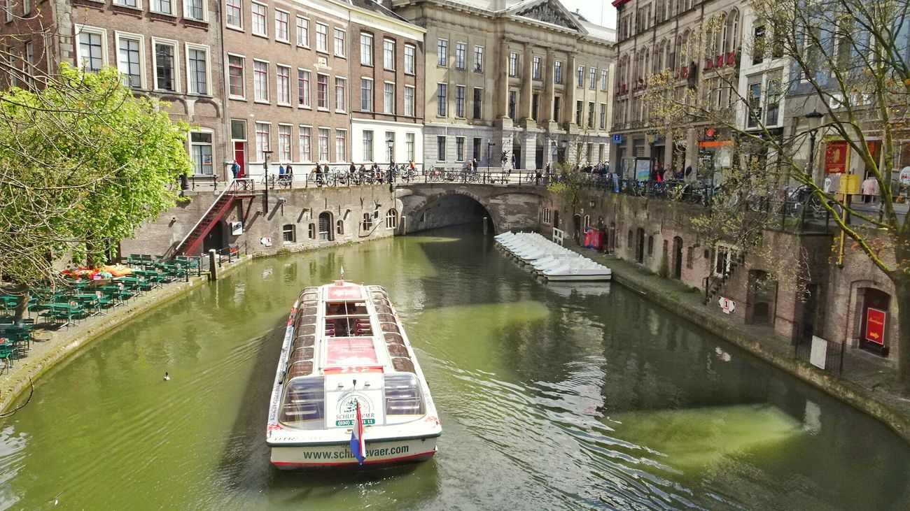 Tour Boat Canal Oudegracht Enjoying Life City Life Cityexplorer Taking Photos Check This Out