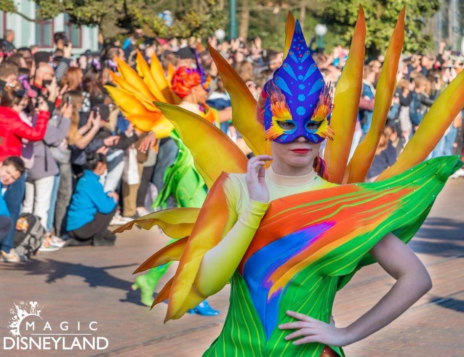 Amusement Park Disney Celebration Day Disneyland Paris Disneylandparis Travel Destinations Flower Celebration 25thanniversary Disneyland Disneyland Resort Paris Multi Colored