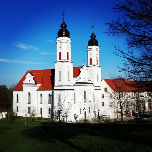 Kloster Christentum Gebäude Architektur Gebäude Und Himmel