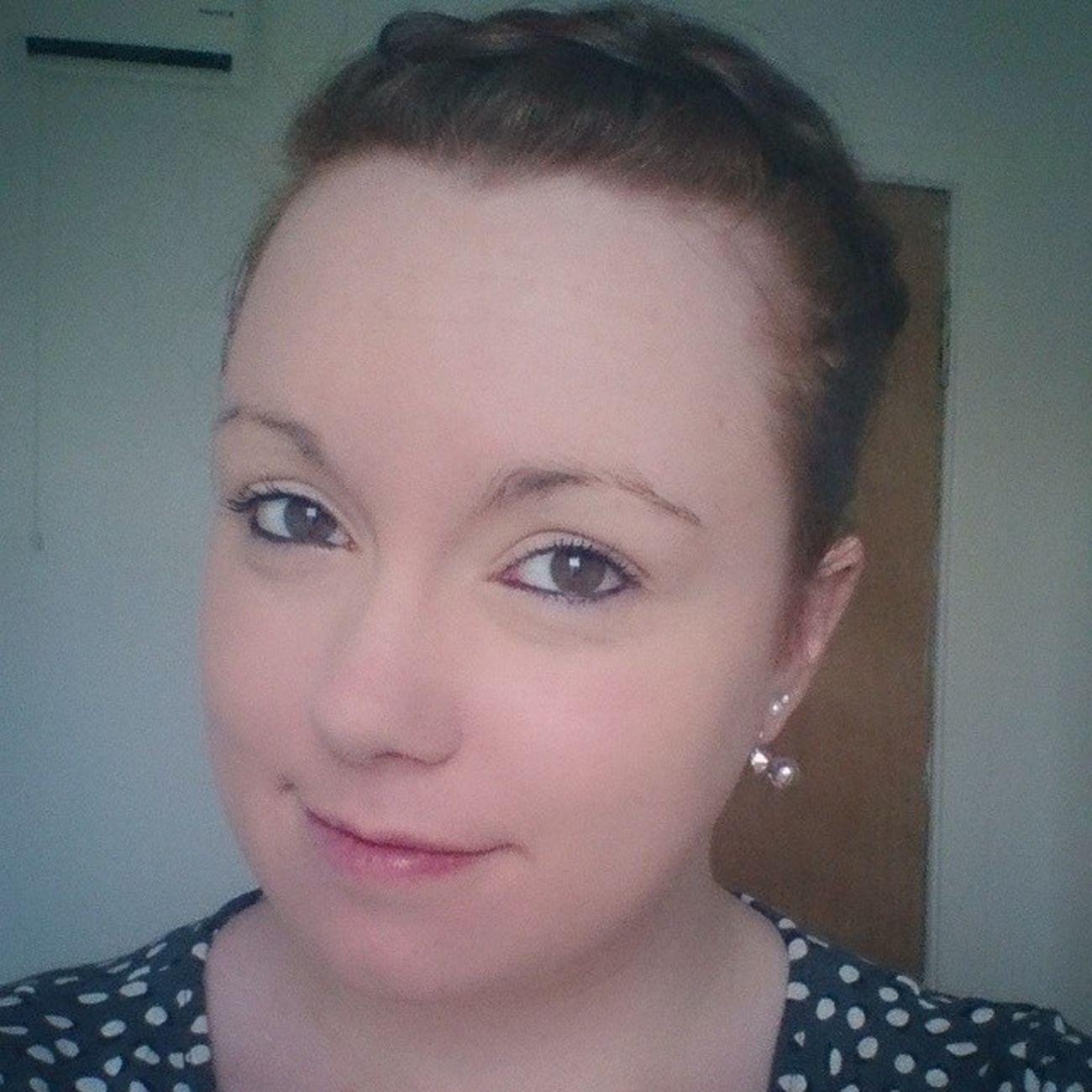 It's hump day at least! Headed to work Sad Selfie Workselfie Redhead gingersofinstagram
