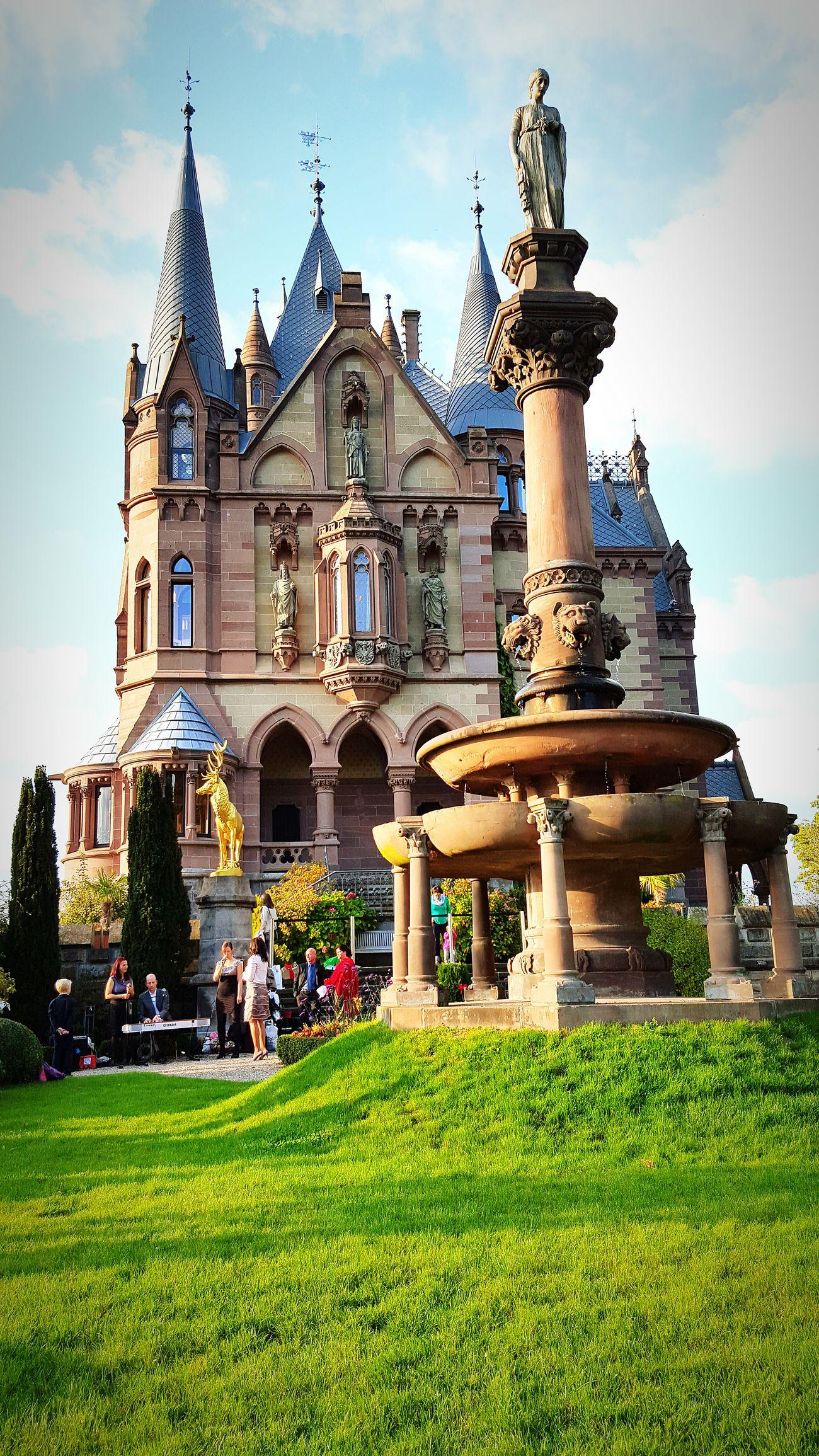 Hochzeit auf Schloss Drachenburg