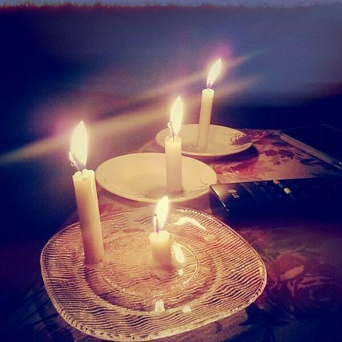 Candle Energyless Penumbra Peacetime