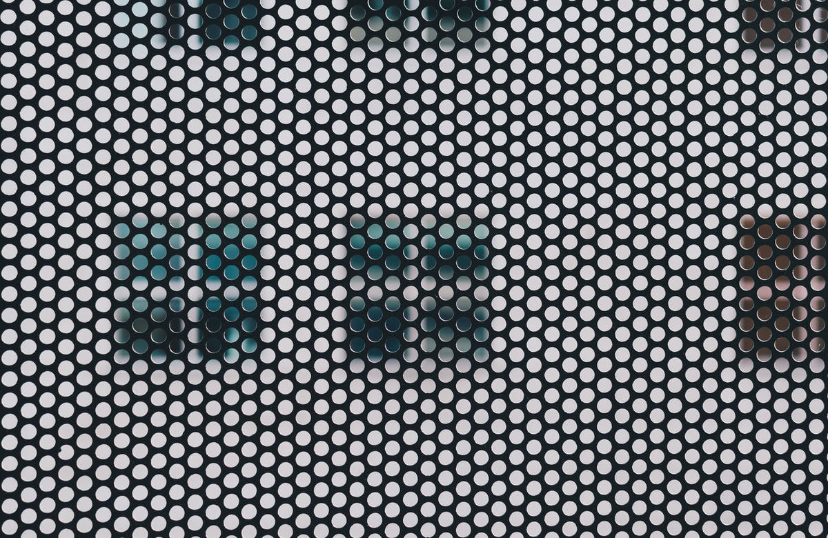 Abstract Apartment Building Architecture Backgrounds City City Life Close-up Day Façade Full Frame Grid Life Mesh Metal Mundane No People Outdoors Pattern Windows