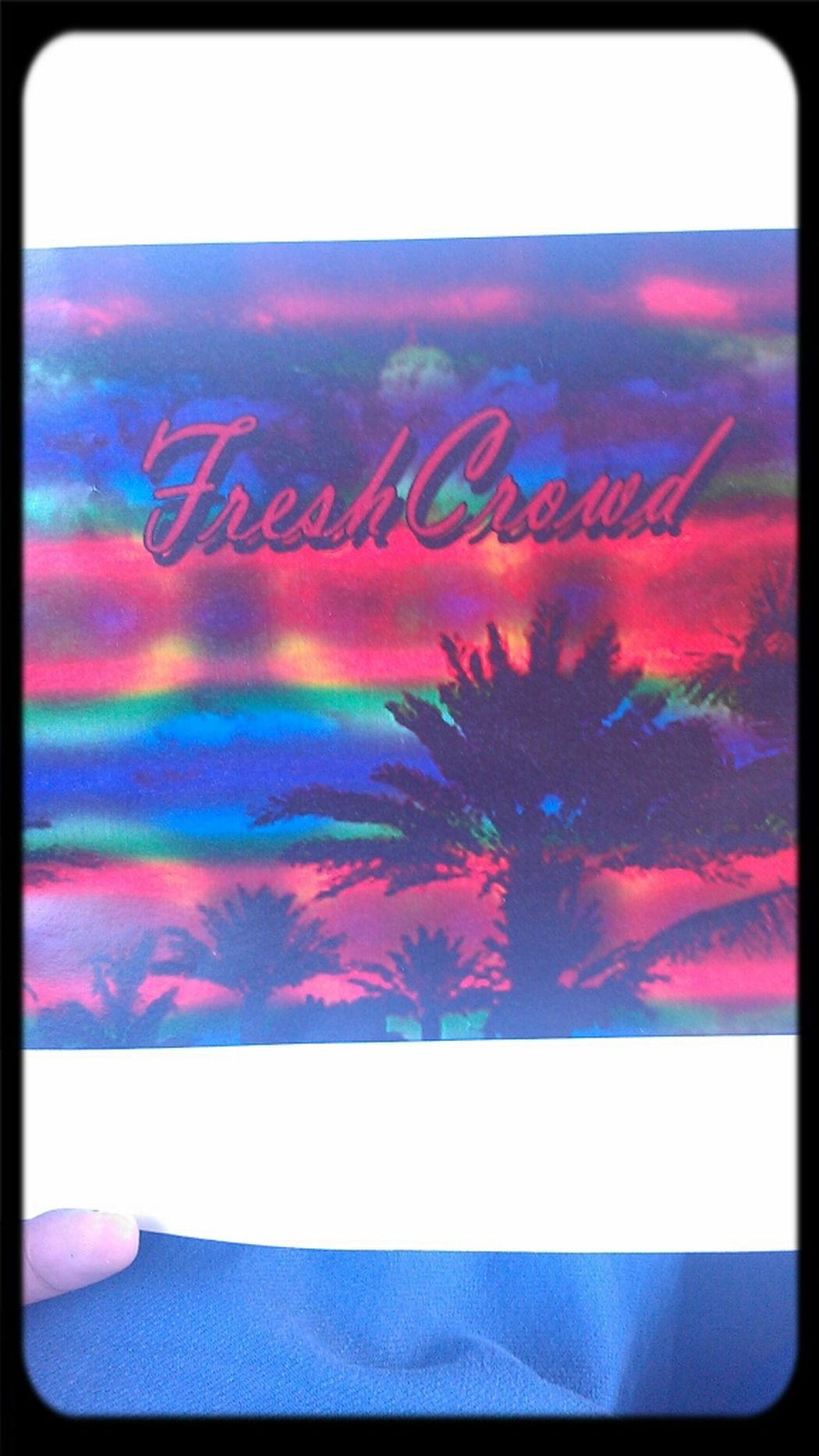 My new clothing design.. Fresh Crowd coming soon! Art My Passion Freshcrowd