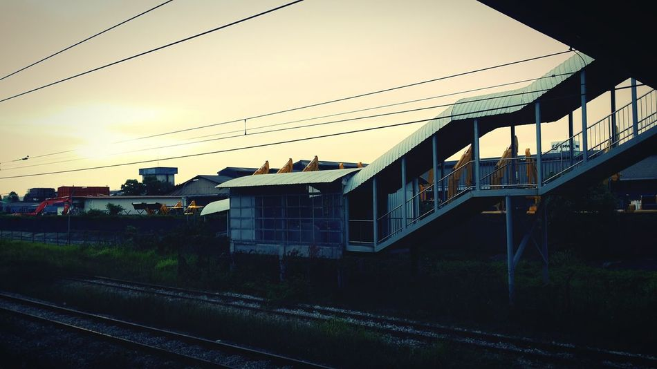Train Station Sunset