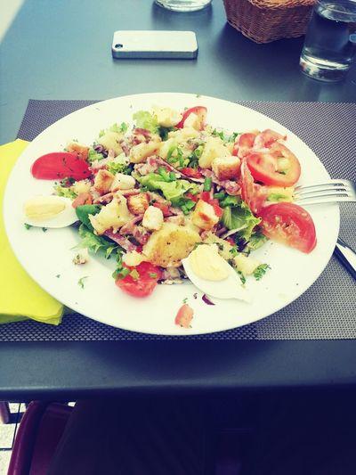 Pour ne pas changer :3 Salade Campagnarde