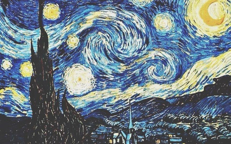 """Винсент Ван Гог Как же меня вдохнавляет эта картина ? """" Звездная ночь """" ?"""