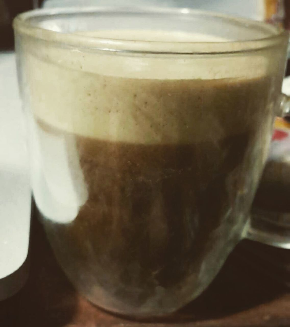 drink, food and drink, coffee - drink, refreshment, coffee cup, frothy drink, freshness, no people, close-up, latte, drinking glass, indoors, table, food, iced coffee, cappuccino, healthy eating, day, mocha, froth art