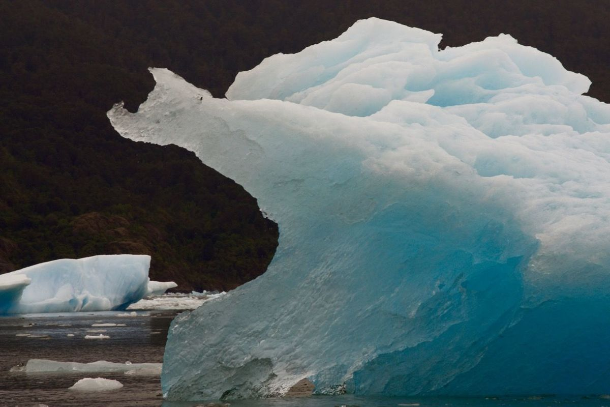 Natural Ice Sculptures Cloud - Sky Day Glacier Ice Ice Bergs Landscape Natural Parkland Nature No People Outdoors Sea Sky