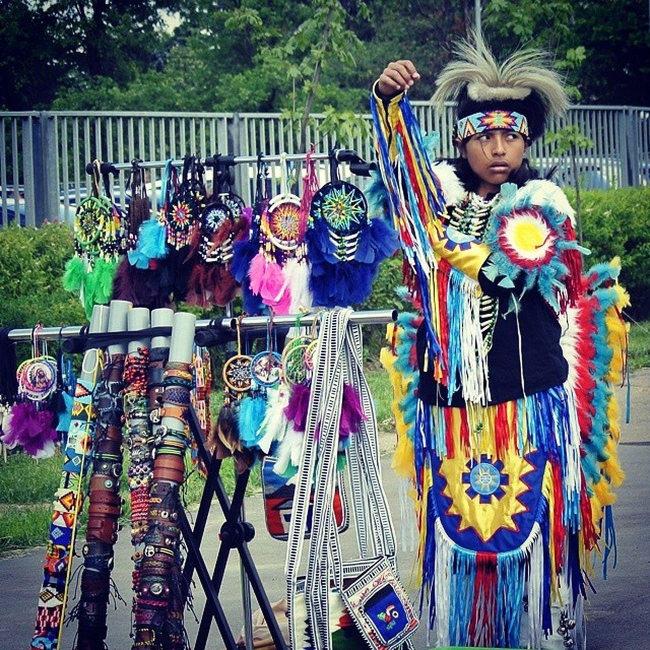 Injun индейцы Instantphoto Streetseller art