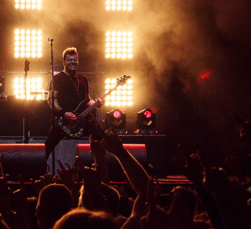 Three Days Grace concert in Moscow, January, 31, 2016 BradWalts Concert Concert Photography Concertphotography Gig Gig Photography MattWalts Rock Rock Concert Tdg Threedaysgrace