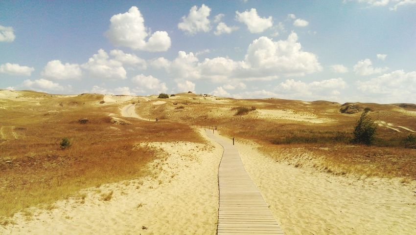 Nida Lithuania Sand Sand Dune Beauty In Nature Desert No People Sky Cloud - Sky Outdoors Nature Day Be. Ready.