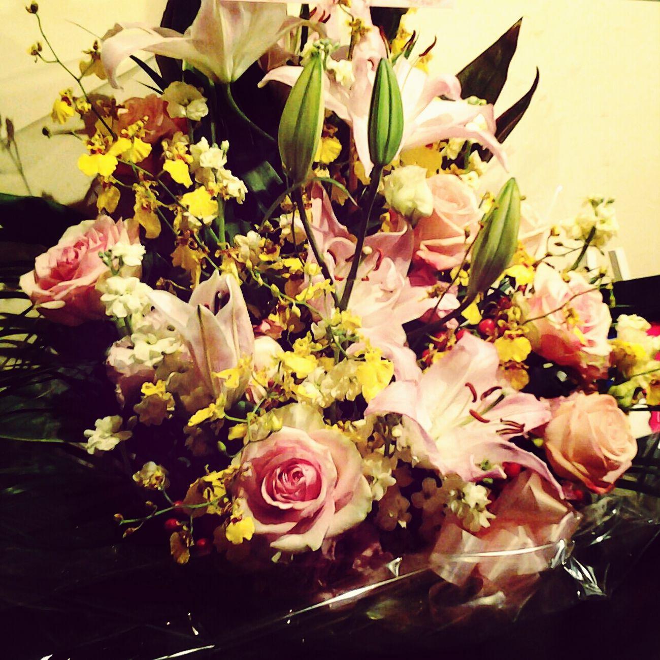 2013、10月26日からの個展会場にて☆