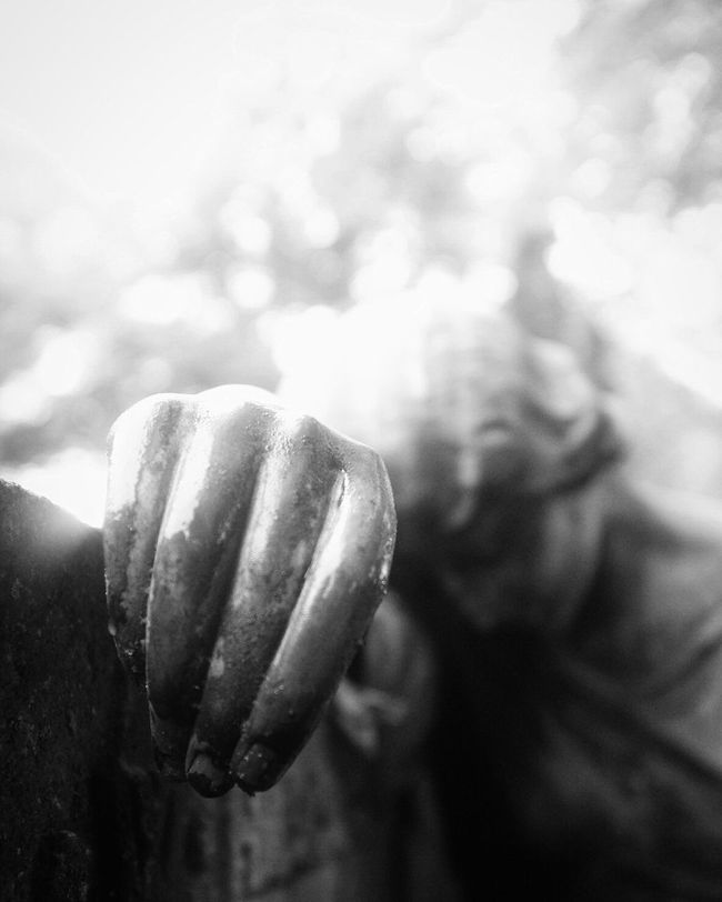 Close-up Tranquil Scene EyeEm Best Shots - Black + White Bw_collection Shootermag Cemetery Statue