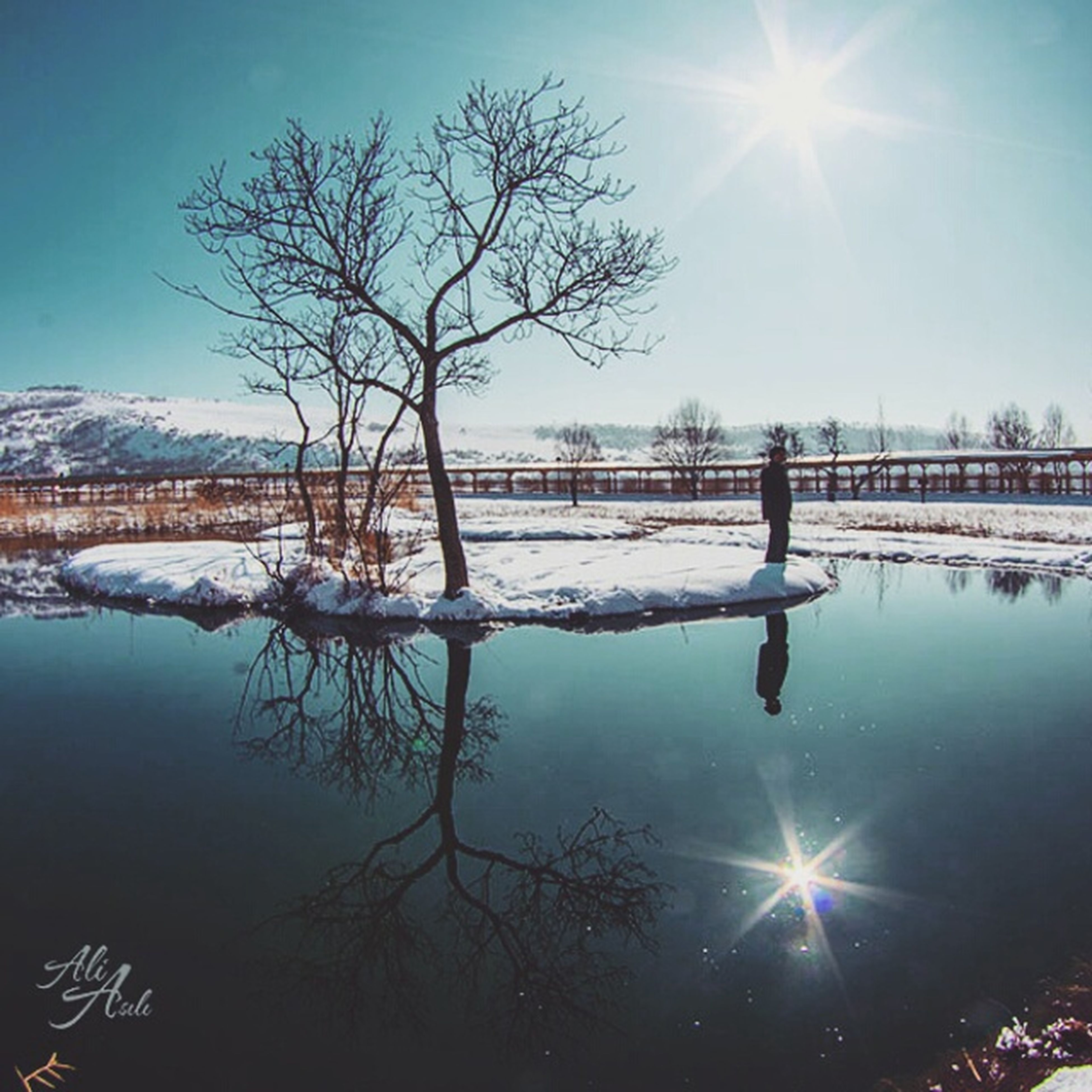 Good morning - Günaydın. ☕ ☺ ? Floating Islands , Yüzen Adalar, Bingöl. Bingöl Yüzenadalar Floatingislands Popular Photos EyeEm Best Shots - Landscape Winter Cold Day Reflection Lake Taking Photos