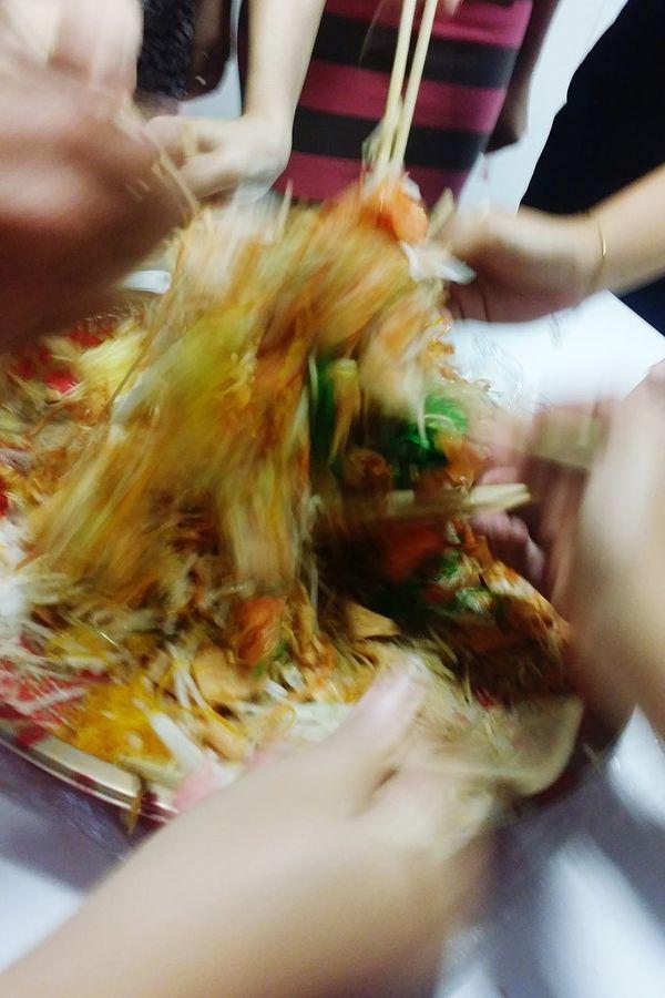 Yusheng 鱼 生 Raw Fish 鱼升 Increase In Abundance Prosperity Toss Lo Hei Cantonese Raw Fish Salad Abundance Prosperity Vigour Chinese New Year Singapore CNY Cny 2017 Singapore