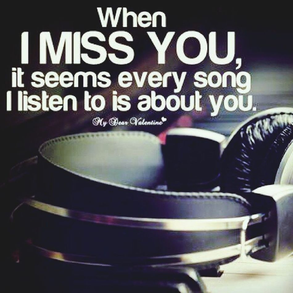I Miss You My Love❤