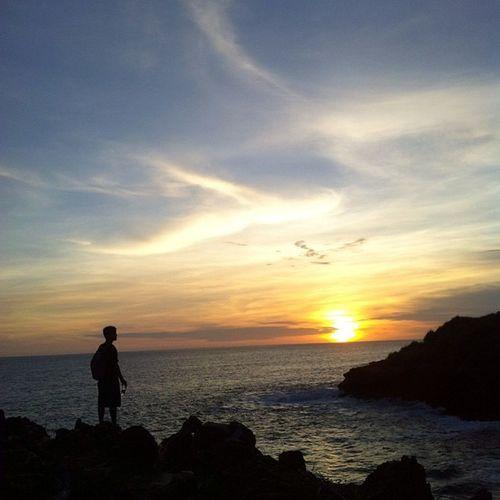 Paradise INDONESIA Beach Clifbeach Clif Sunset Niceview Bensambur