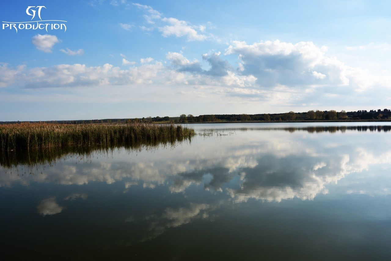 cloud - sky, sky, reflection, nature, water, no people, beauty in nature, scenics, tranquility, tranquil scene, outdoors, day