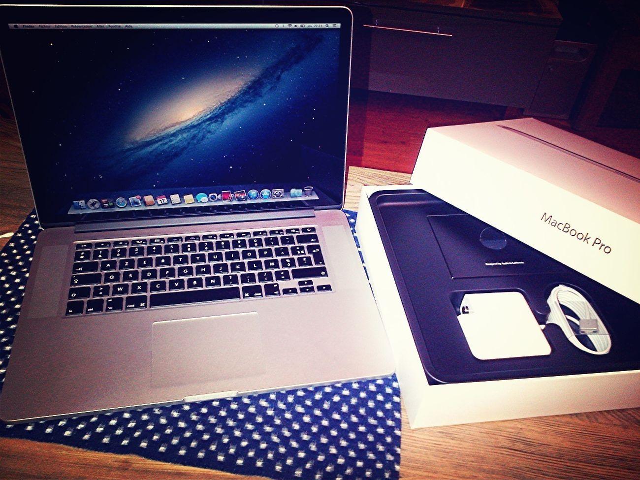 Cc Le Petit Nouveau : MacBookPro Retina 15'
