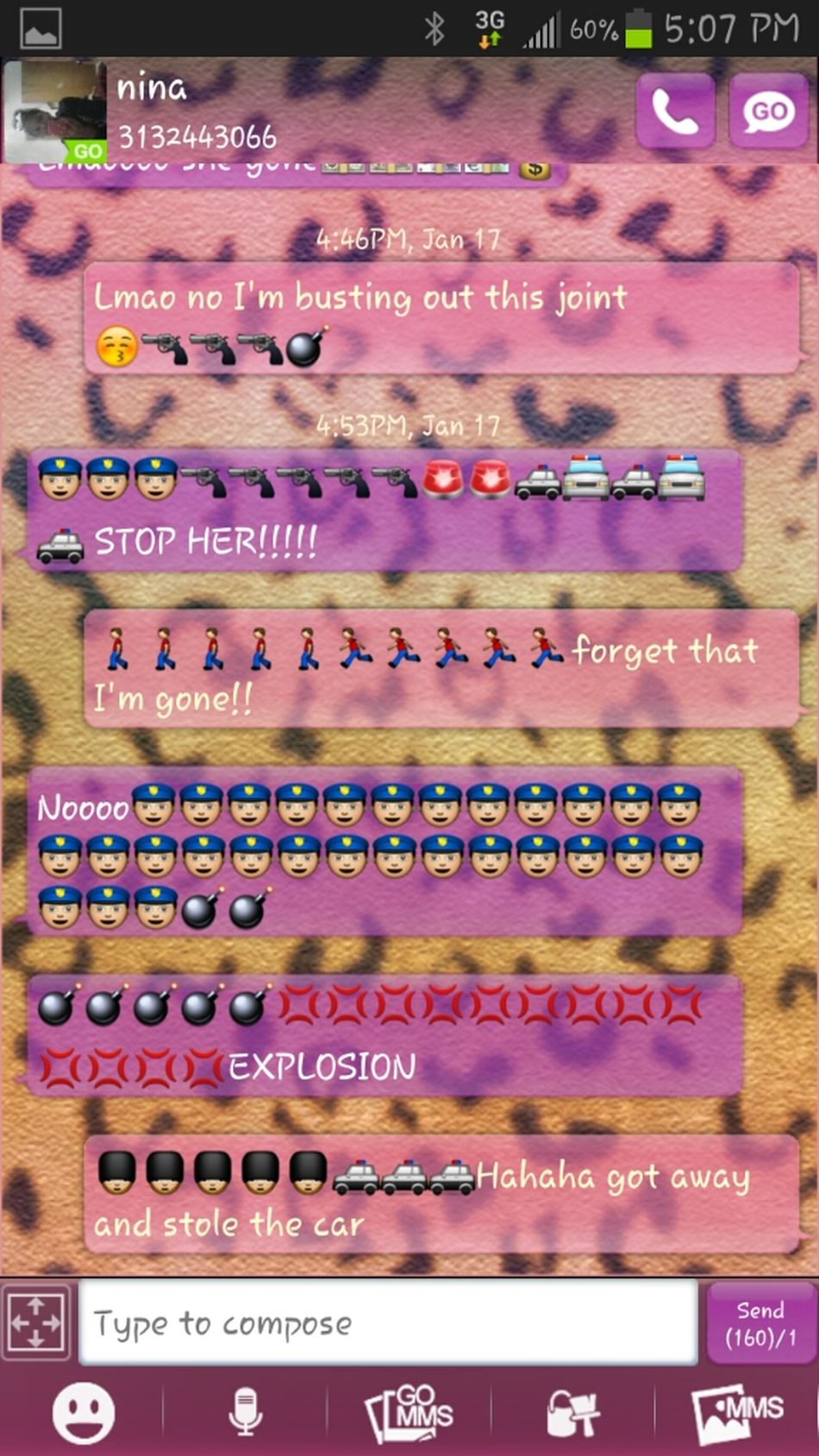 Me And My Bestfriend Convo.
