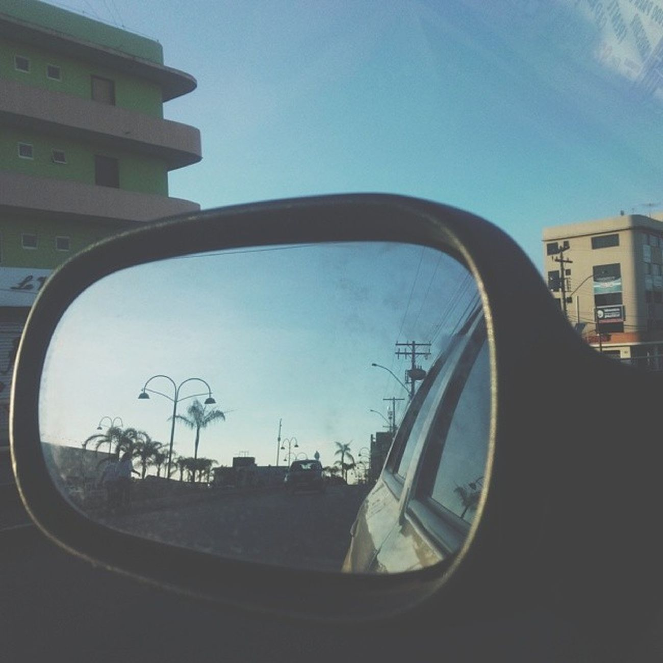 Holiday Rearviewmirror