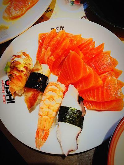 A Taste Of Life Sushi Sasimi Salmon Sashimi Oishi