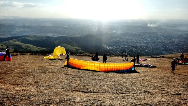 Atibaia Pedra Grande Parapente Salto Nature Sunset Paraglider First Eyeem Photo