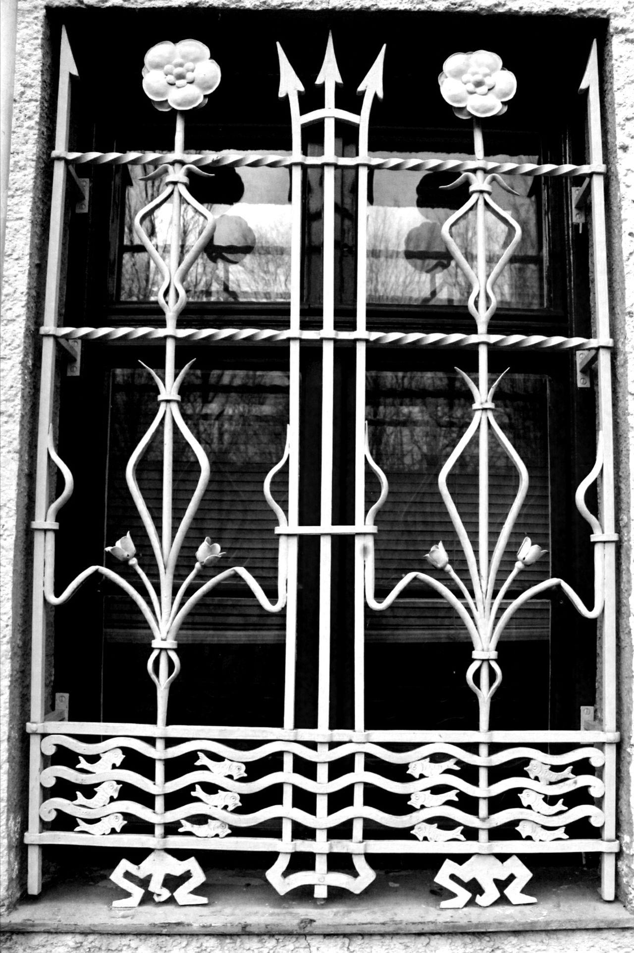 Built Structure No People Architecture Iron - Metal Day Window Windowdesign Blackandwhite Black & White Black And White Photography Schwarzweiß Schwarz & Weiß Schwarzweißfotografie