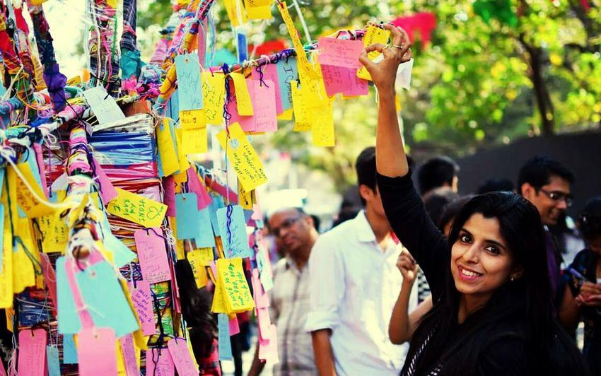Wishlist Tags Messages Wish Wishes Dreams Colours Kalaghoda Festival Kalaghodaartfestival Mumbai