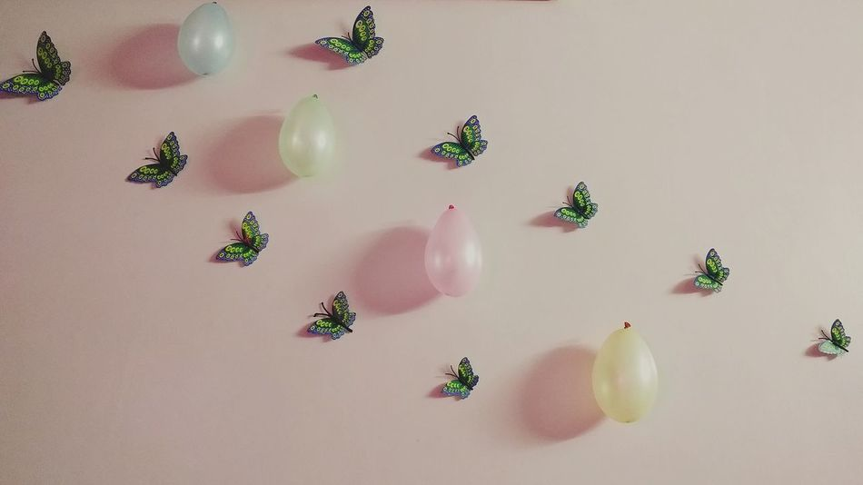 Homedecore🙂 Indoors  Birthdayparty Birthday Cake Butterfly ❤ Balloons🎈