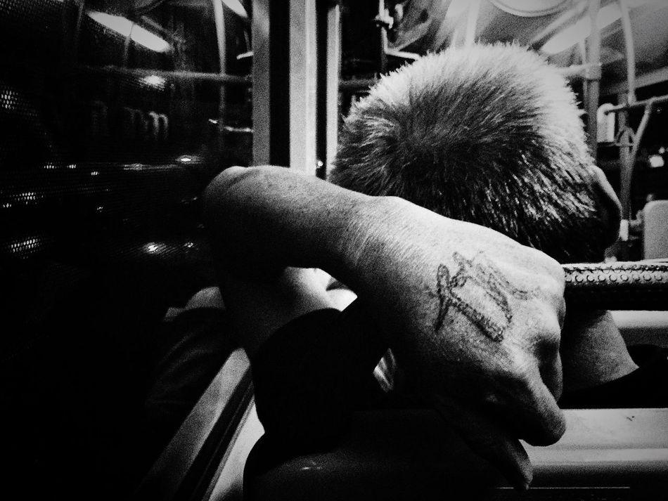 Inked Vengeance... Busrides Inked Vengeance Reminder Story Looking Back Past Anger First Eyeem Photo