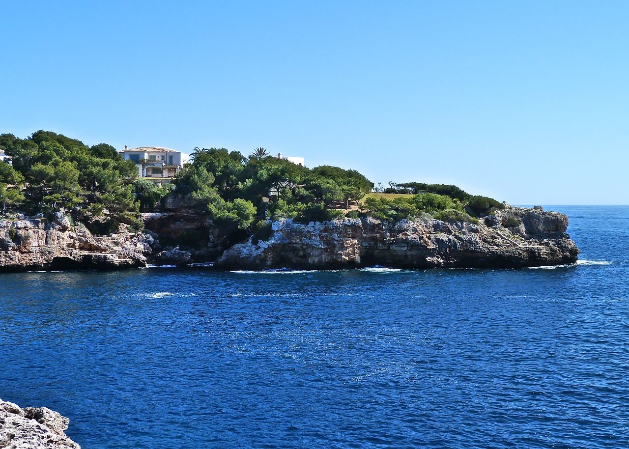 Amazing Architecture Beach Beauty In Nature Blue Clear Sky Cliff Coastline Coastline Holiday Horizon Over Water Life Is A Beach Mallorca Mediterranean Sea Nature Relaxing Rock Formation Scenics Sea SPAIN Taking Photos Tranquil Scene Travel Waterfront Wineandmore