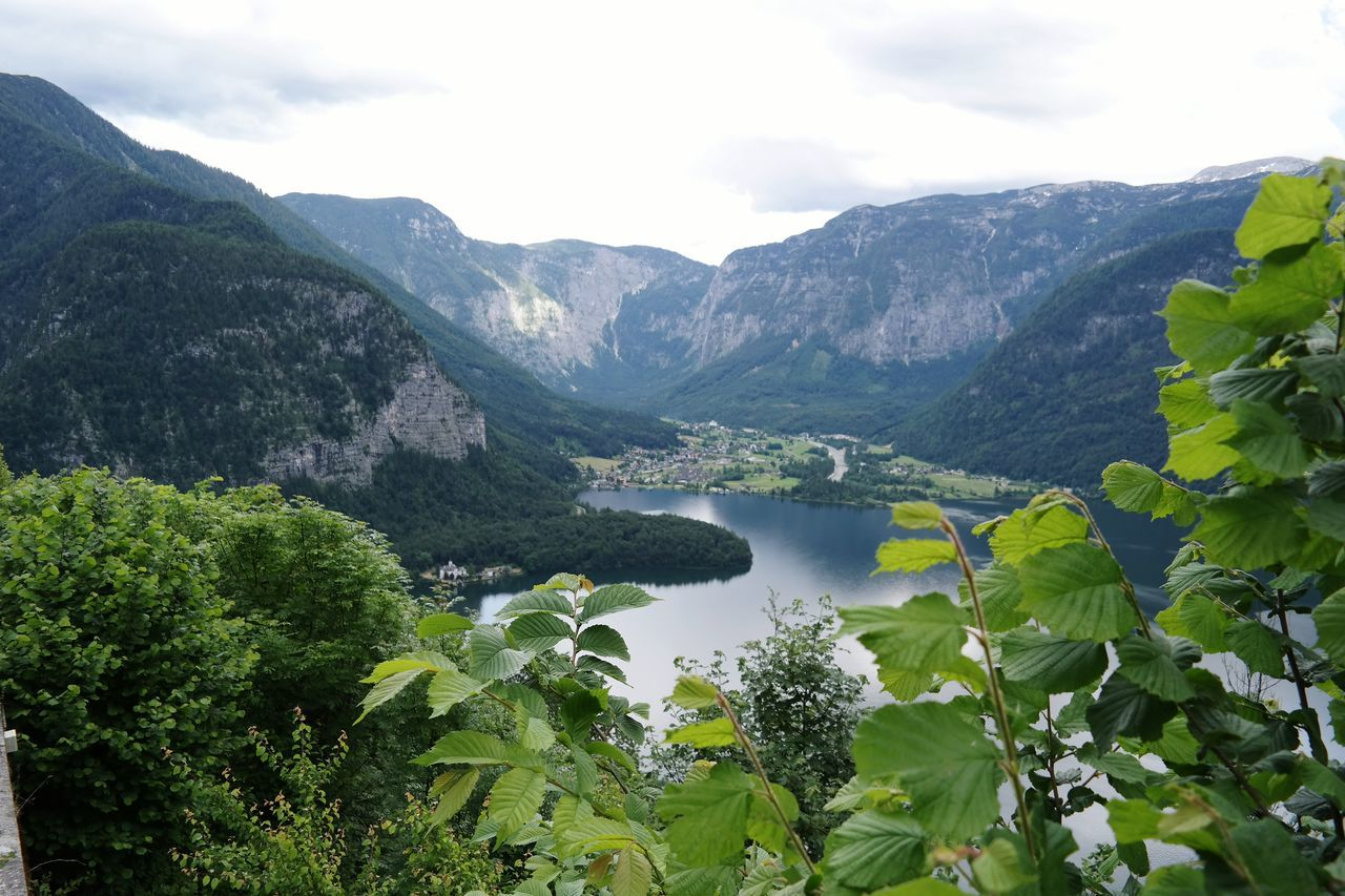 Beautiful nature Lake Lake View Mountains And Sky Mountain View Mountains And Valleys Green Water Hallstatt, Austria Salzburg, Austria Salzbercbau Welterbeblick Unesco World Heritage Travel Photography Traveling Holiday Trip EyeEm Nature Lover Nature Photography