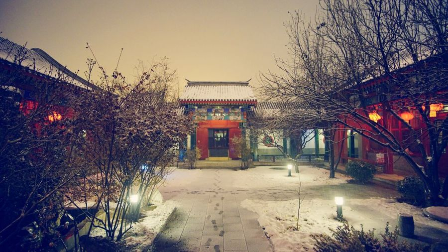 Light And Shadow Nature Art Cityscapes Night Lights City Chinese New Year
