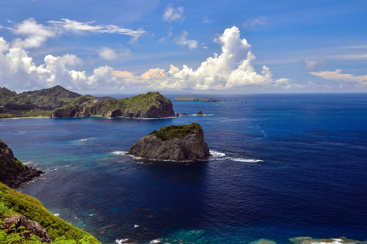 Blue Sky Landscape_Collection Landscape_photography Ogasawara Island Ogasawara Islet Sea And Sky South Island White Clouds