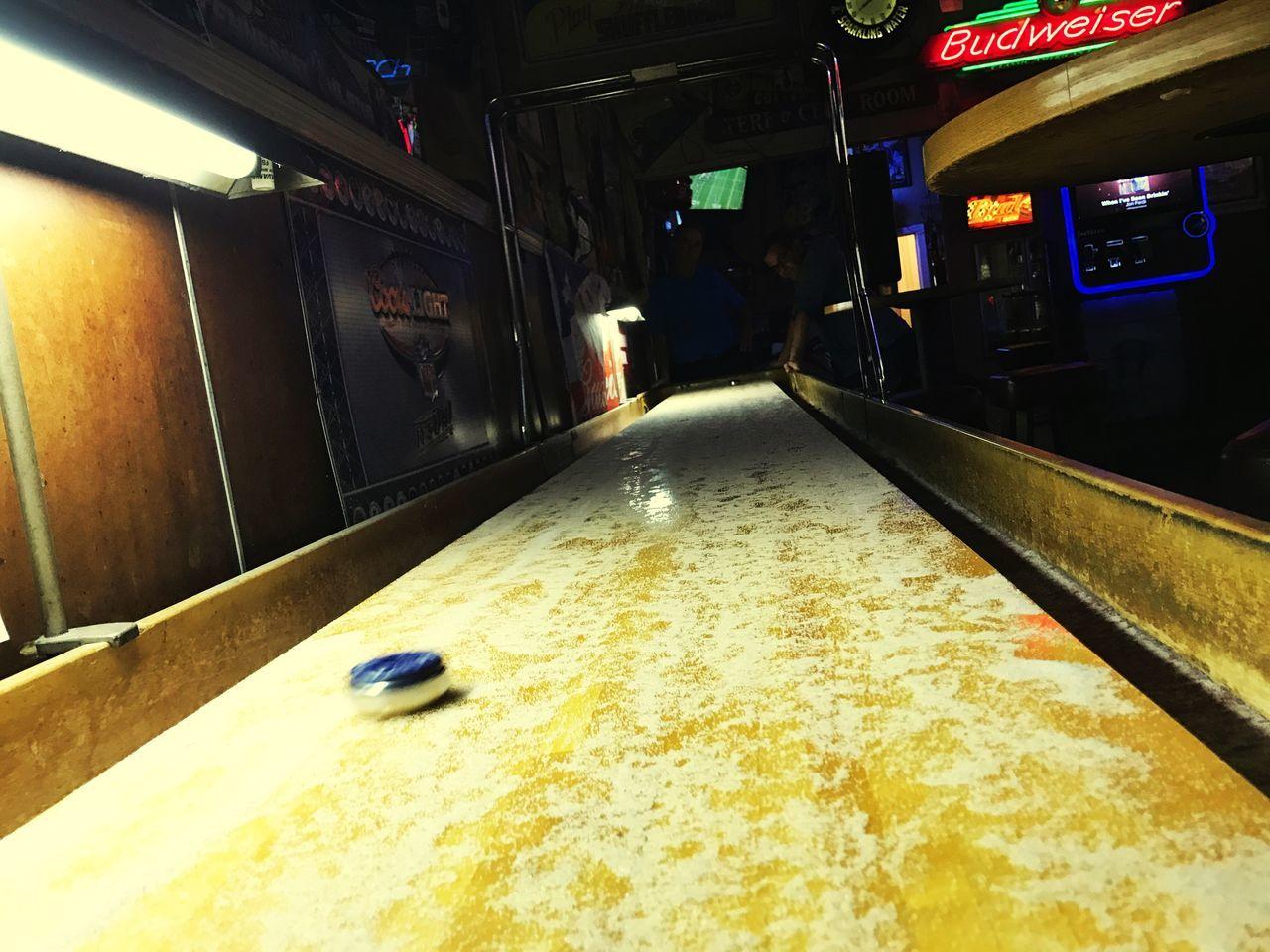 Shuffleboard Shuffle Board Bar Games Bar Cocktail Beer Games