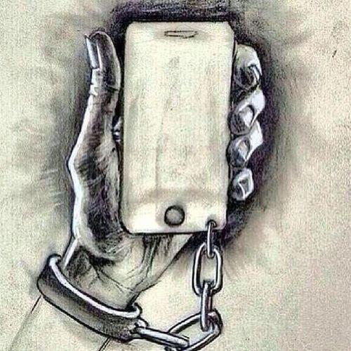 Merhaba modern kölelik... Modern Modernizm Telefon Telephone art skech paint idea dusundurucu karikatur espri istanbul