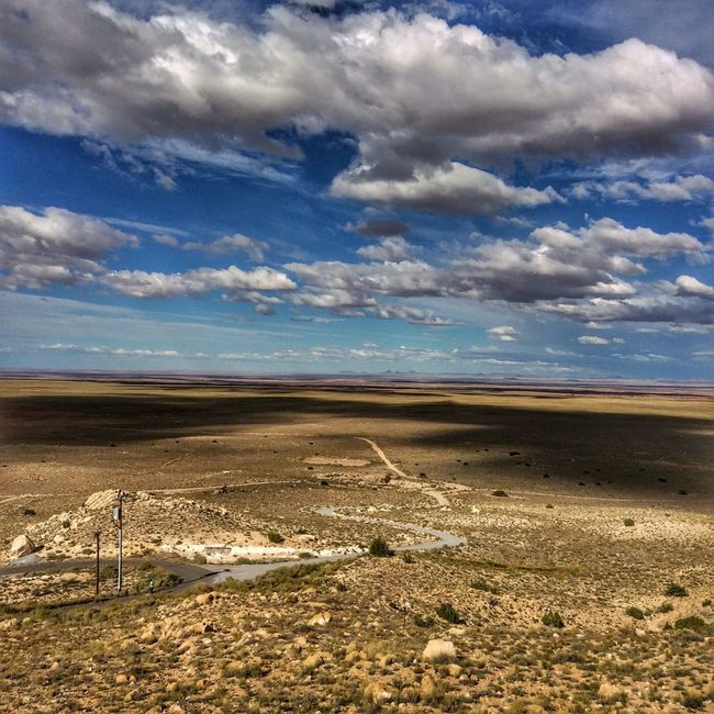 Tranquil Scene Cloud Sky Tranquility Scenics Sand Calm Non-urban Scene Cloud - Sky Beauty In Nature Nature Trails Walking Path Roads Dramatic Sky Shadows & Lights Clouds Heavy Atmospheric Mood Arizona Deserts Around The World Desert Desert Beauty Surface Level Day