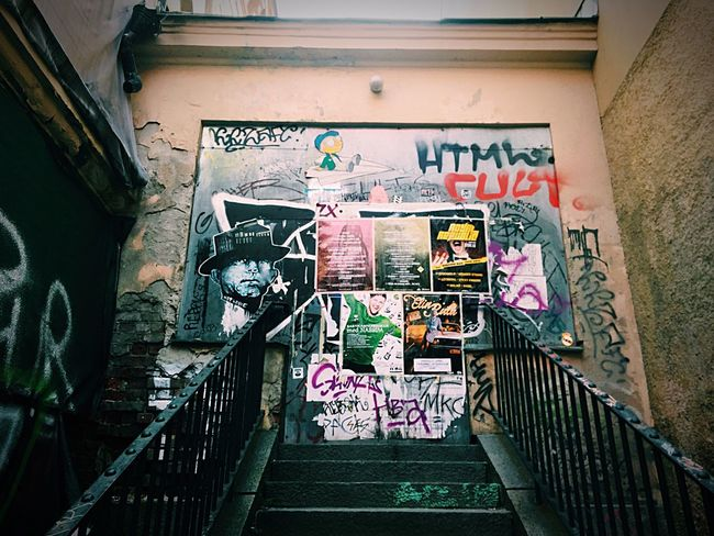 Stairs to nowhere Stairs Graffiti Taking Photos Streetphotography Street Photography Posters